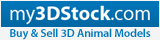 my3DStock - 3D Model Marketplace - Buy & Sell 3D Models